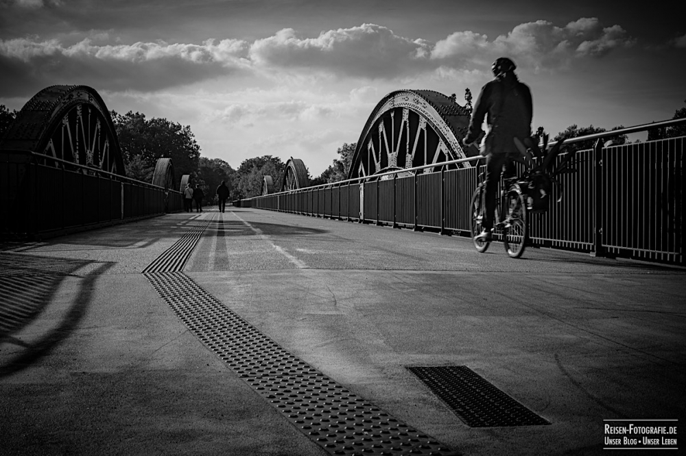 Radschnellweg Ruhrbrücke