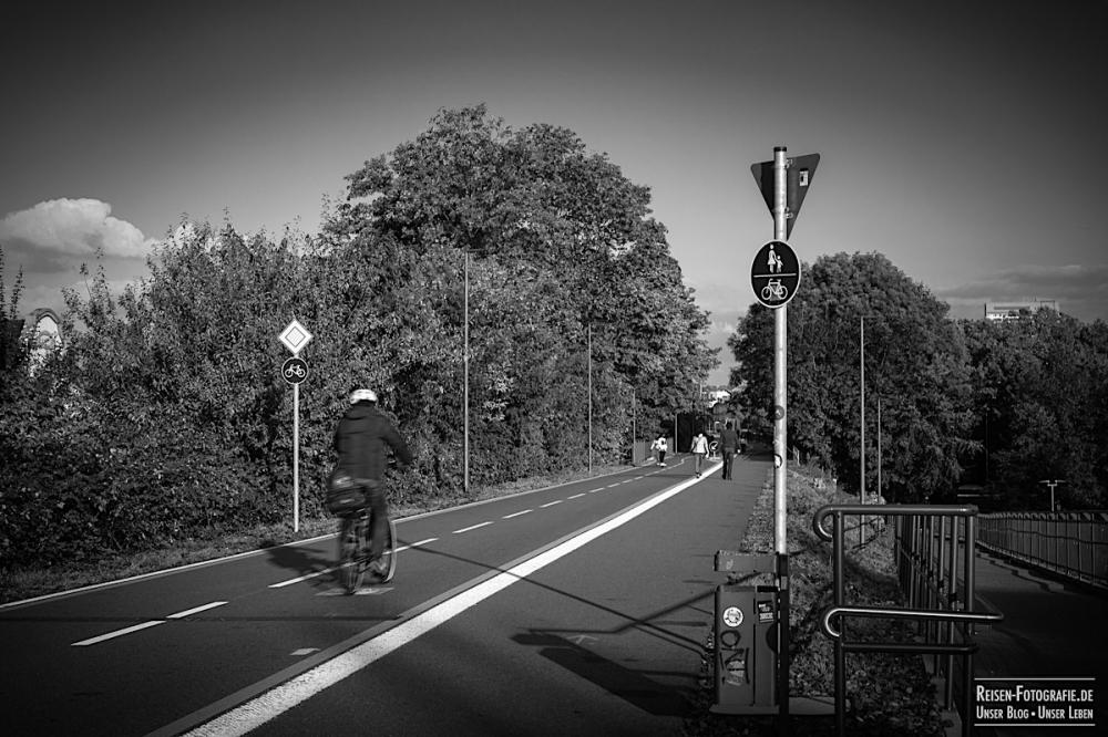 Radschnellweg Richtung Essen