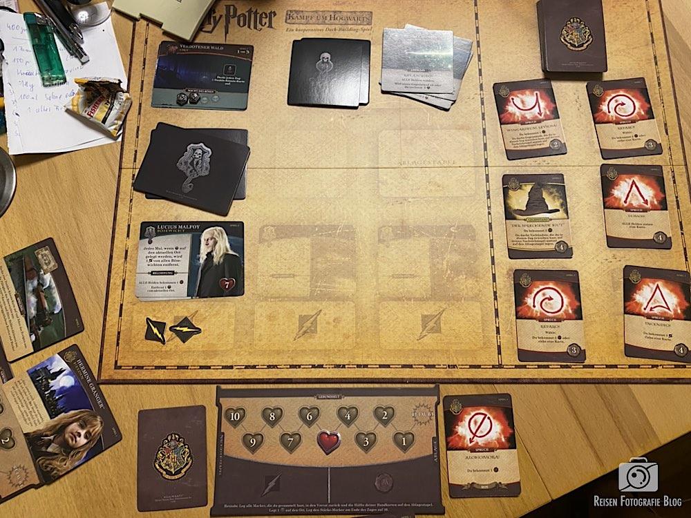 Harry Potter Spieltisch