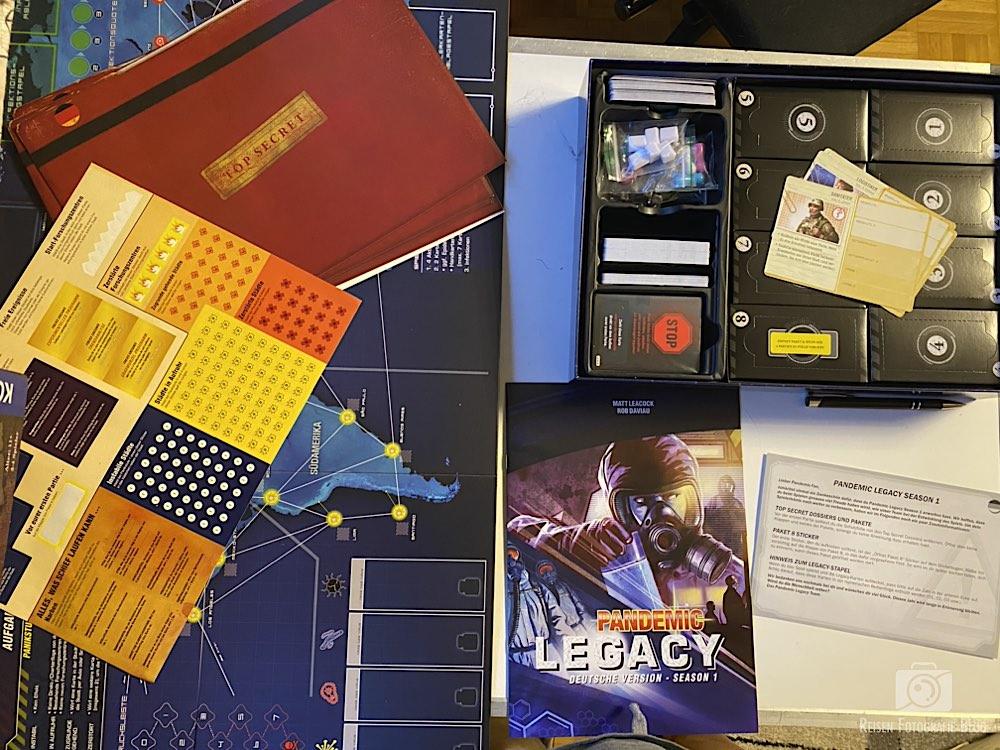 Pandemic Boxen Anleitung