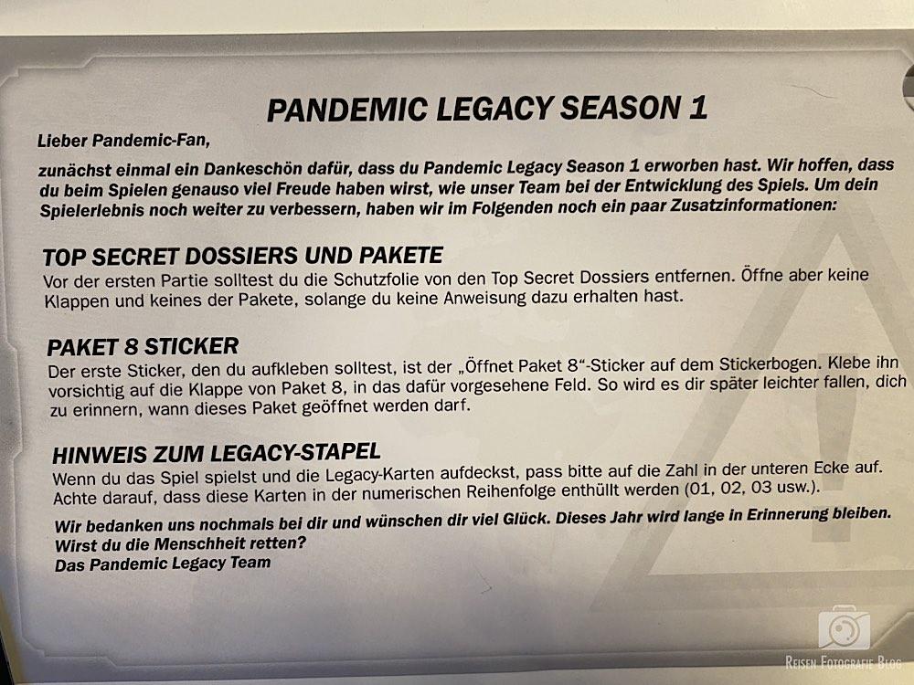 Pandemic Geheimnisse