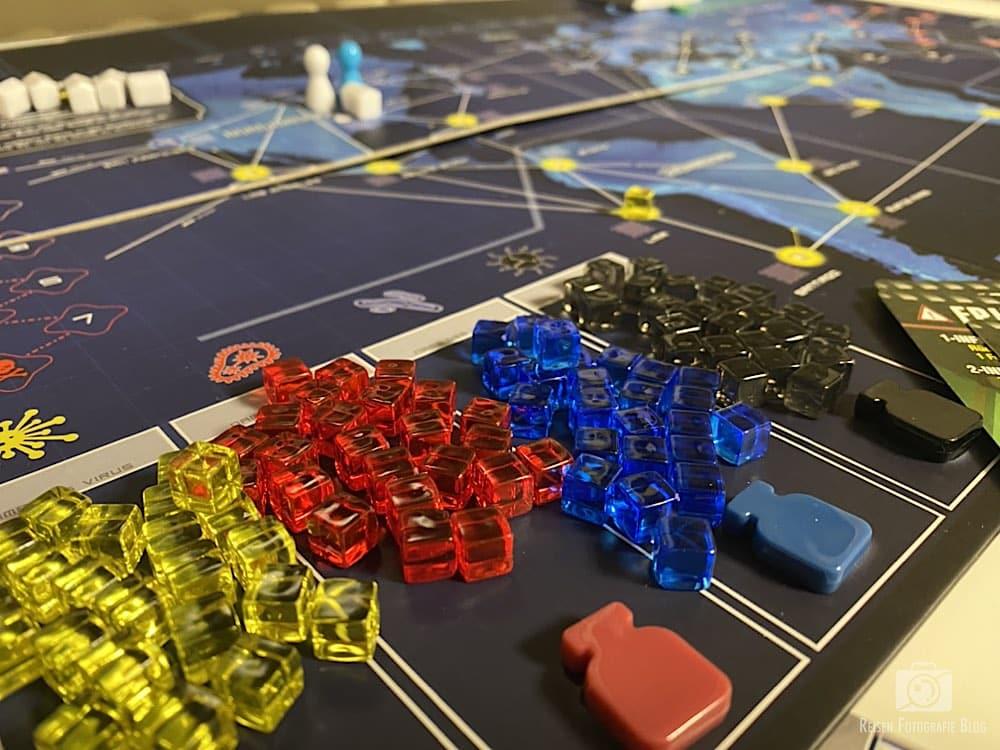 Pandemic Spielbrett