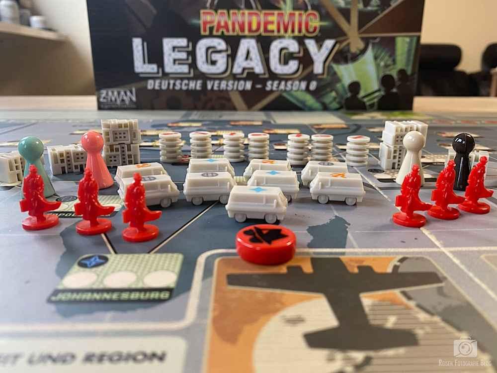 Pandemix Legacy 0 Spielfiguren
